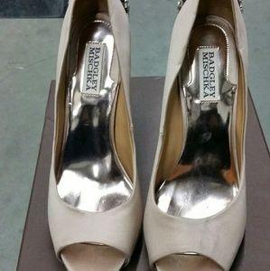 Bagley Miscka Kiara Embellished Peep Toe Shoe